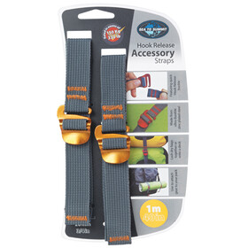 Sea to Summit Hook Release Accessory Straps 20mm/1m, yellow